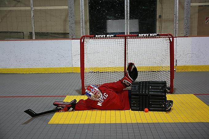 Amazon Com Mylec Goalie Pads Hockey Sticks Sports Outdoors