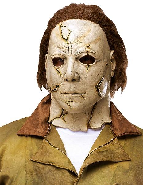 Halloween 2 Rob Zombie Mask.Amazon Com Rob Zombie S Halloween Michael Myers Mask Toys