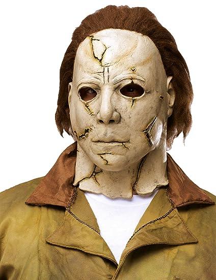 Generique - Máscara Lujo Michael Myers Adulto: Amazon.es ...