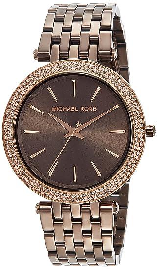 Michael Kors Reloj Analógico para Mujer de Cuarzo con Correa en Acero Inoxidable MK3416: Michael Kors: Amazon.es: Relojes