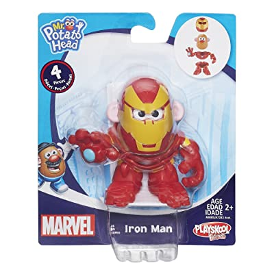 Mr. Potato Head Iron Man Mixable Mashable Heroes Mr. Potato Head as Iron Man Figure: Toys & Games