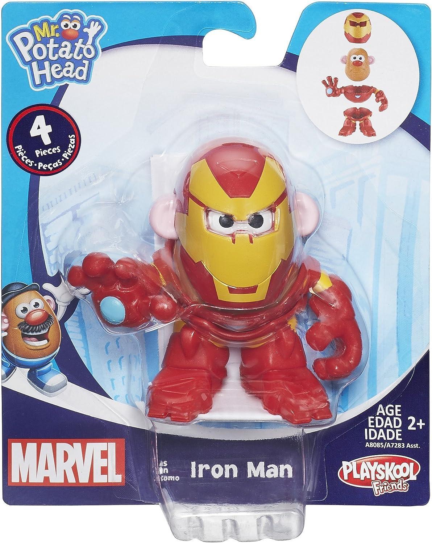 Marvel Super Heroes Mr Potato Head Tony Stark Iron Man Ages 2 New Toy Boys Play