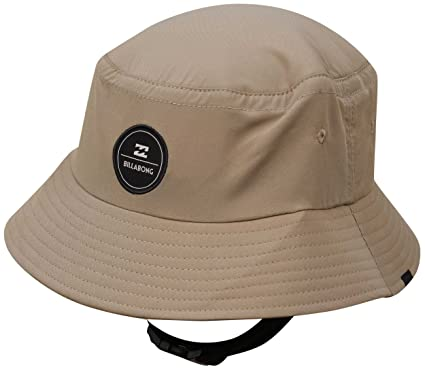 Amazon.com  Billabong Supreme Bucket Surf Hat - Stone  Clothing 7bf3a584ebf