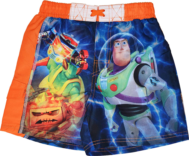 Boys Disney Toy Story Buzz and Woody Swim Shorts Sizes 3 to 8 Years
