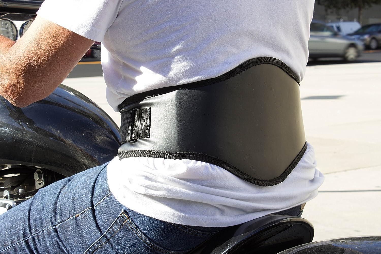 with Orthopedic Lumbar Pad Leatherette XX-Large Back-A-Line MotoSport Kidney Belt