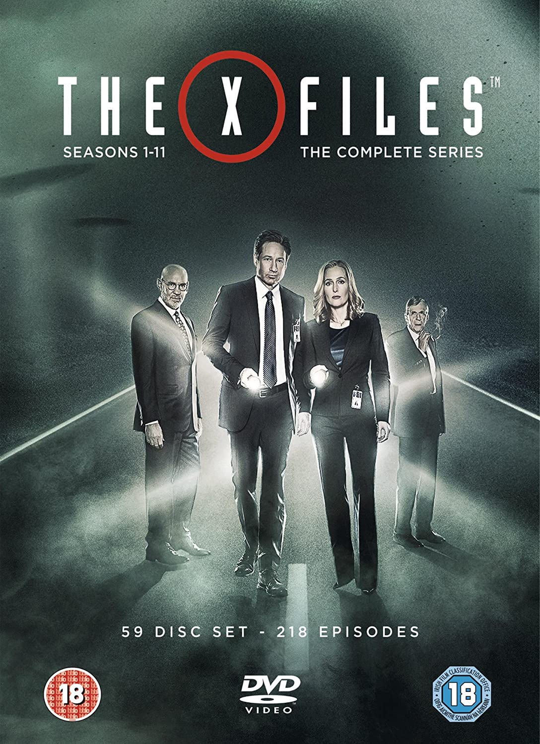 Amazoncom The X Files Complete Series Seasons 1 11 Dvd