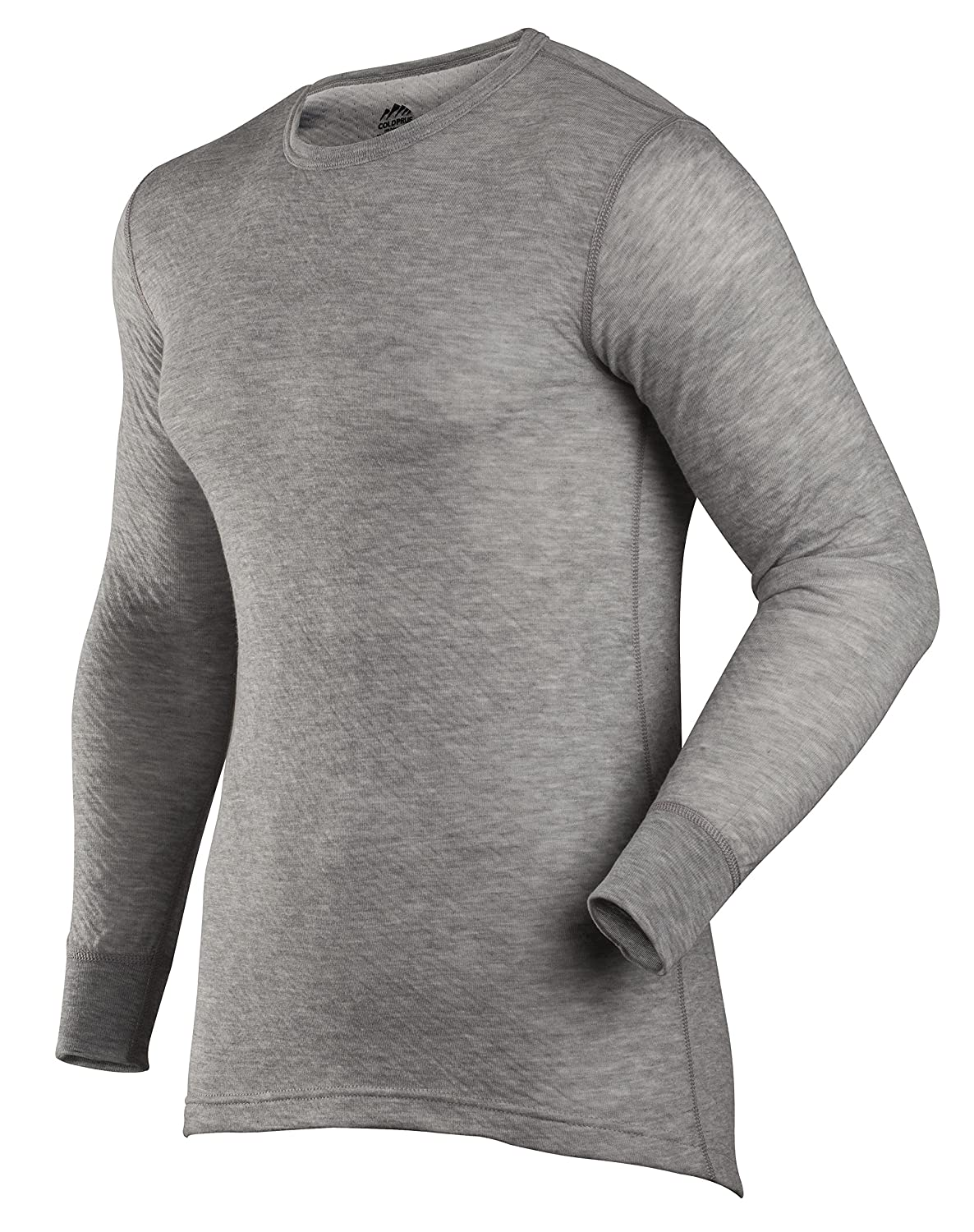 RefrigiWear Men 's Base Layer Top Small グレー B016L6HIAQ