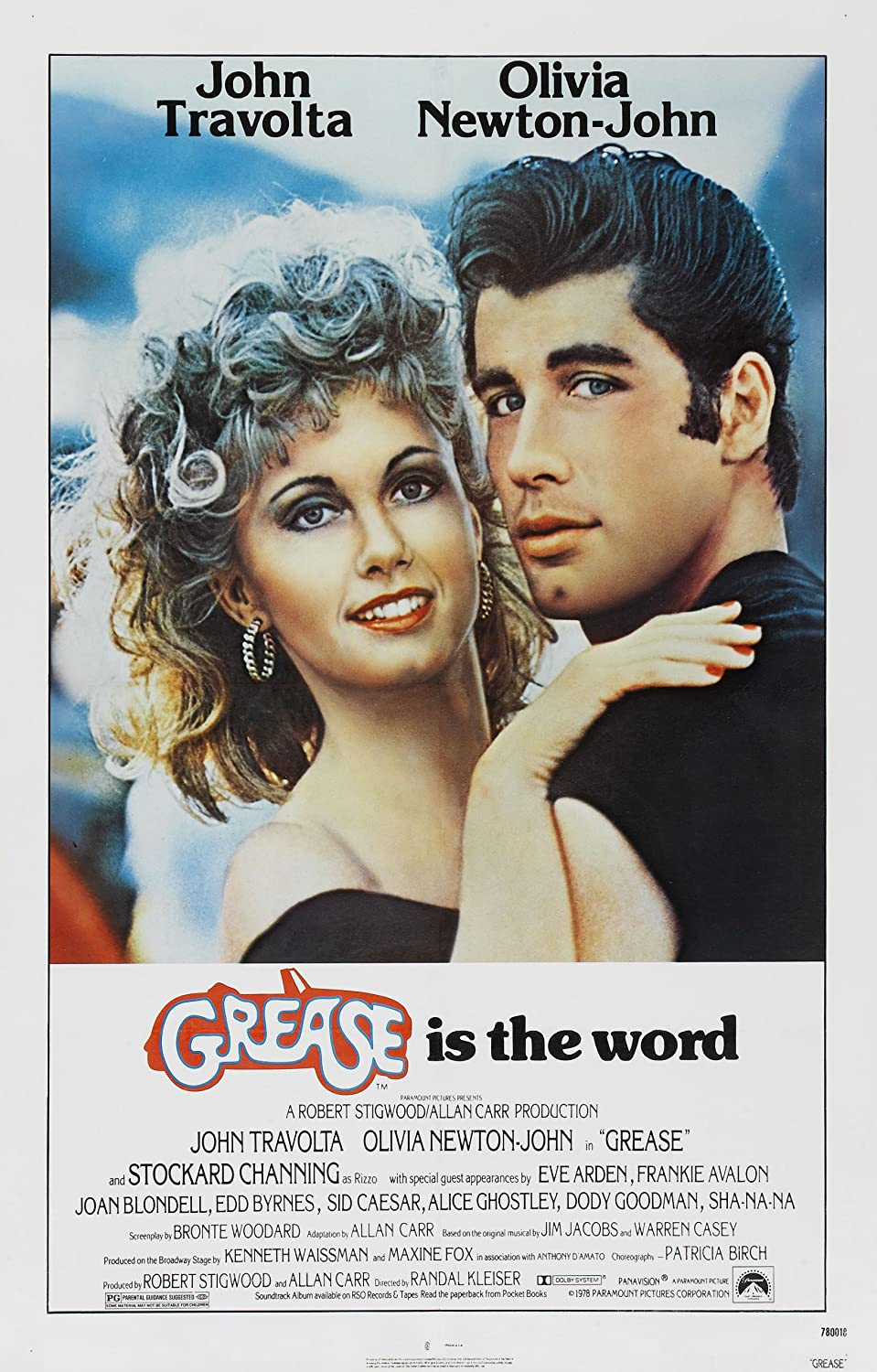 GREASE MOVIE POSTER PRINT APPROX SIZE 12X8 INCHES: Amazon.co.uk ...