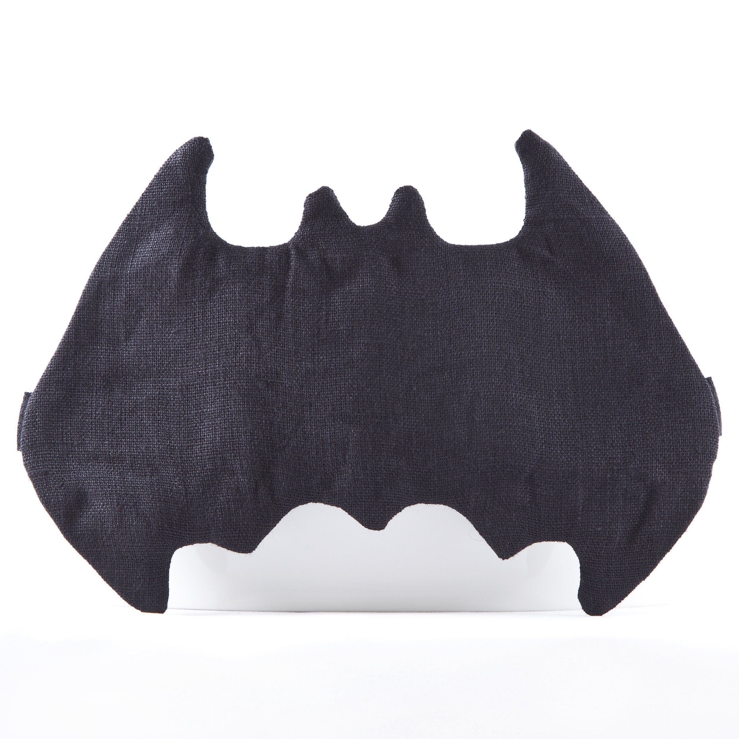 Linen Batman Sleep Mask, Super Hero Mask, Cute Gift for Her, Sleepover Party Supplies, Black Mask, Gift Ideas for Mom Birthday, Batman Mask