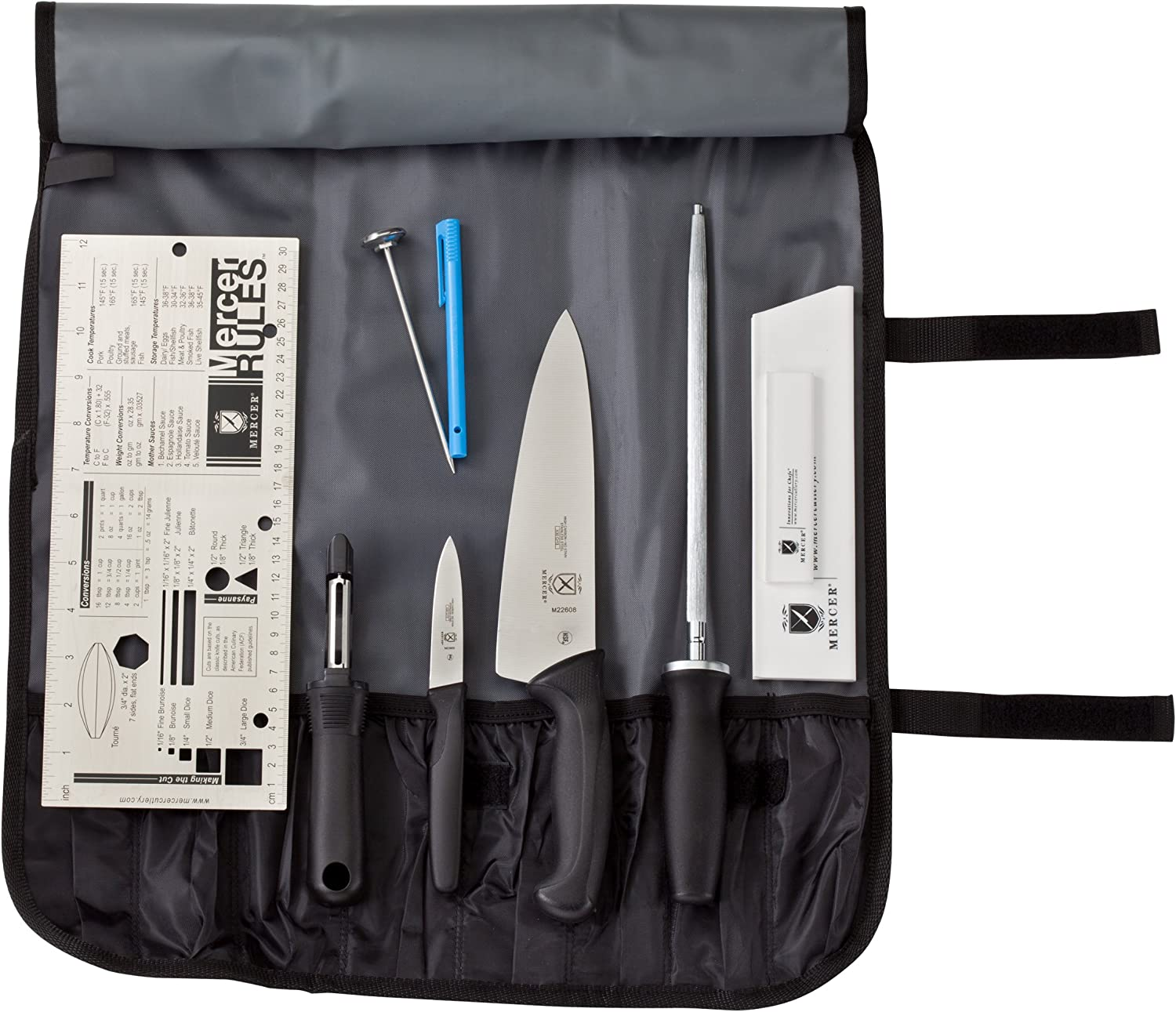 Mercer Culinary Partners in Education 9-Piece Millennia Culinary School Kit