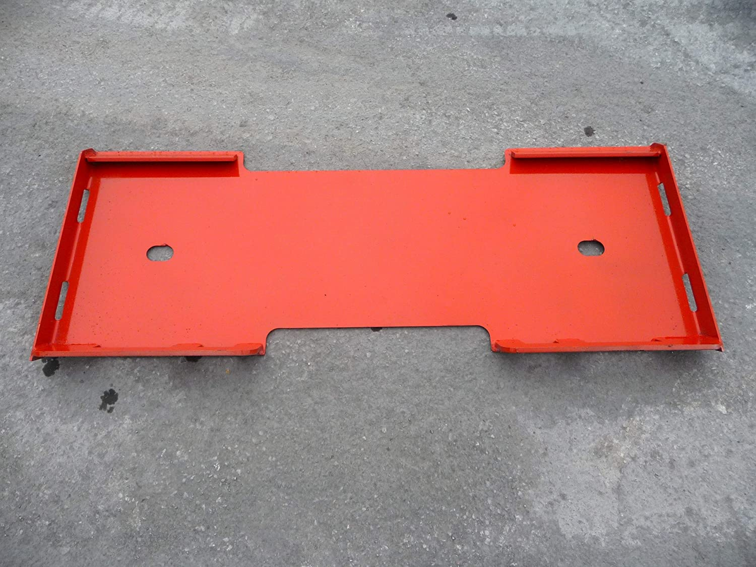 Skid Steer Kubota Loader Attachment Quick Connect Blank Mount Weld Plate