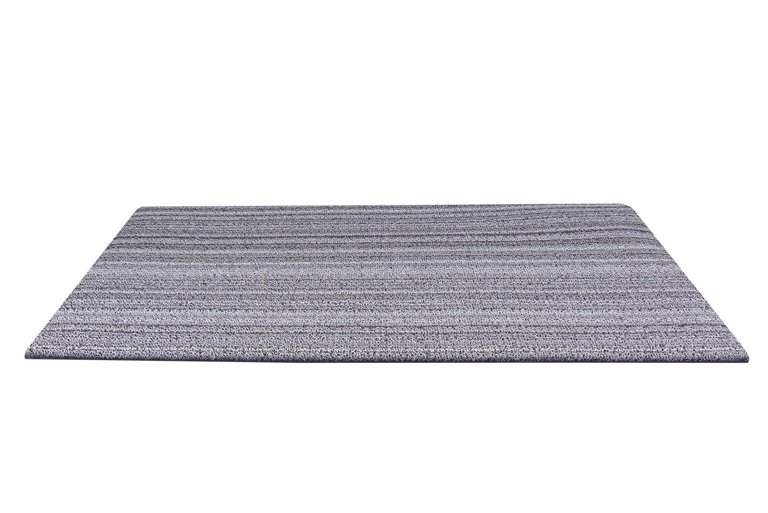 Chilewich Skinny Stripe Doormat, 18 by 28-Inch, Birch by Chilewich (Image #1)