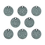 Tim Holtz Idea-Ology Metal Quote Tokens