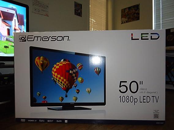 Emerson LC501EM3 LCD HDTV (resistente al aire libre negro Nylon TV ...