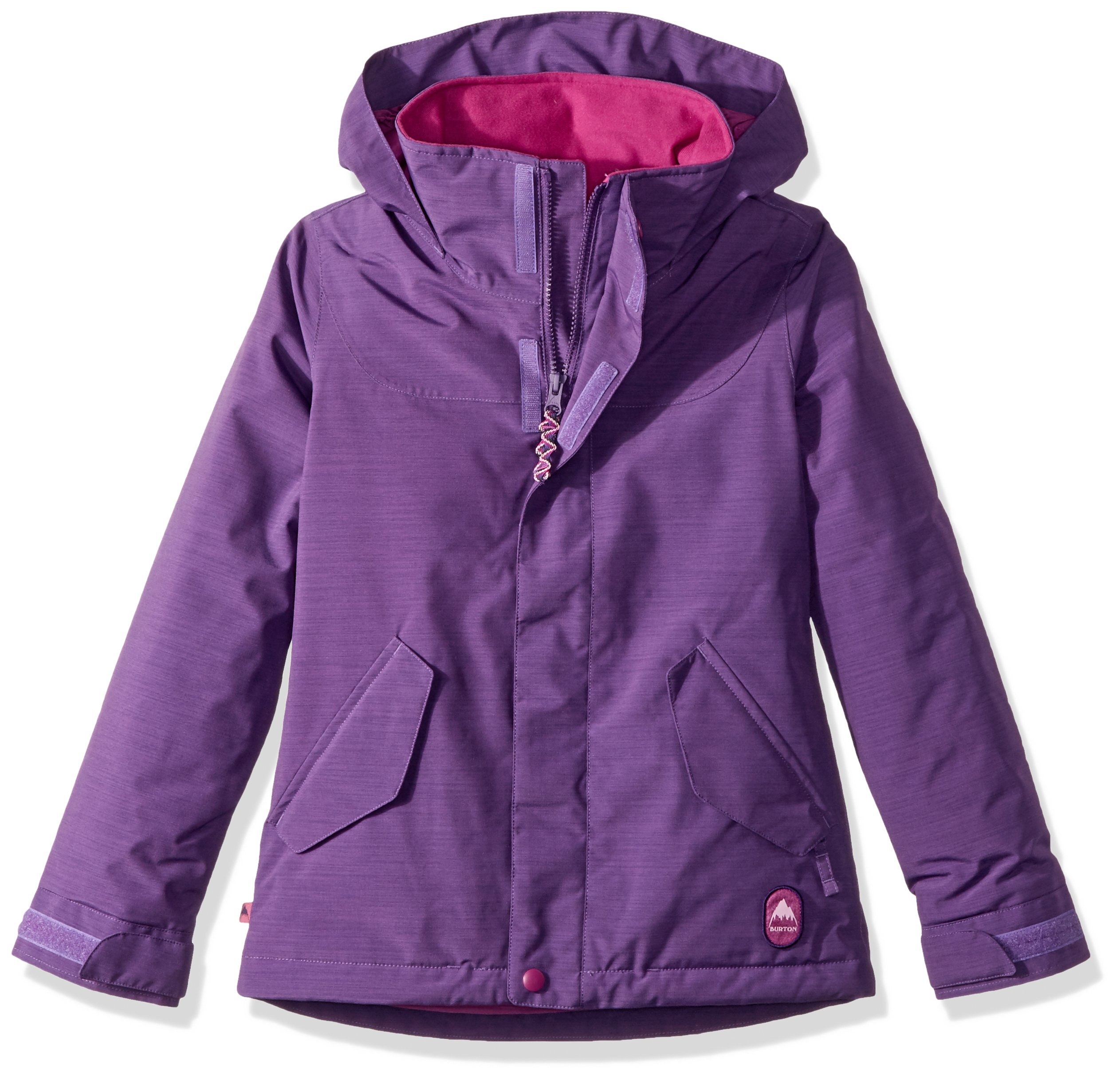 Burton Youth Girls Elodie Jacket, Petunia, X-Small by Burton