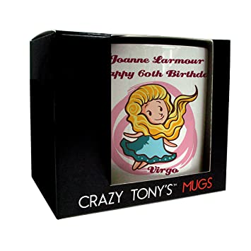 60th Birthday Presents For Her Grandmas Gift Ideas Personalised Mug