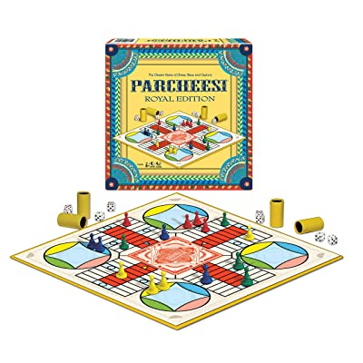 Winning Moves Games Parcheesi Royal Edition: Toys & Games
