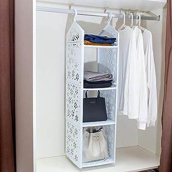 Amazon.com: Vdomus - Organizador de armario para colgar ...