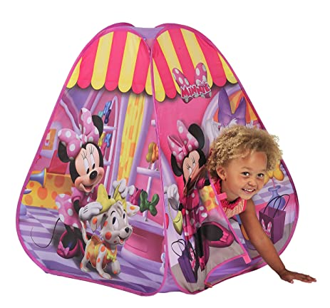 Knorrtoys N6635 Popup Tent - Minnie Mouse  sc 1 st  Amazon.com : minnie mouse bowtique tent - memphite.com