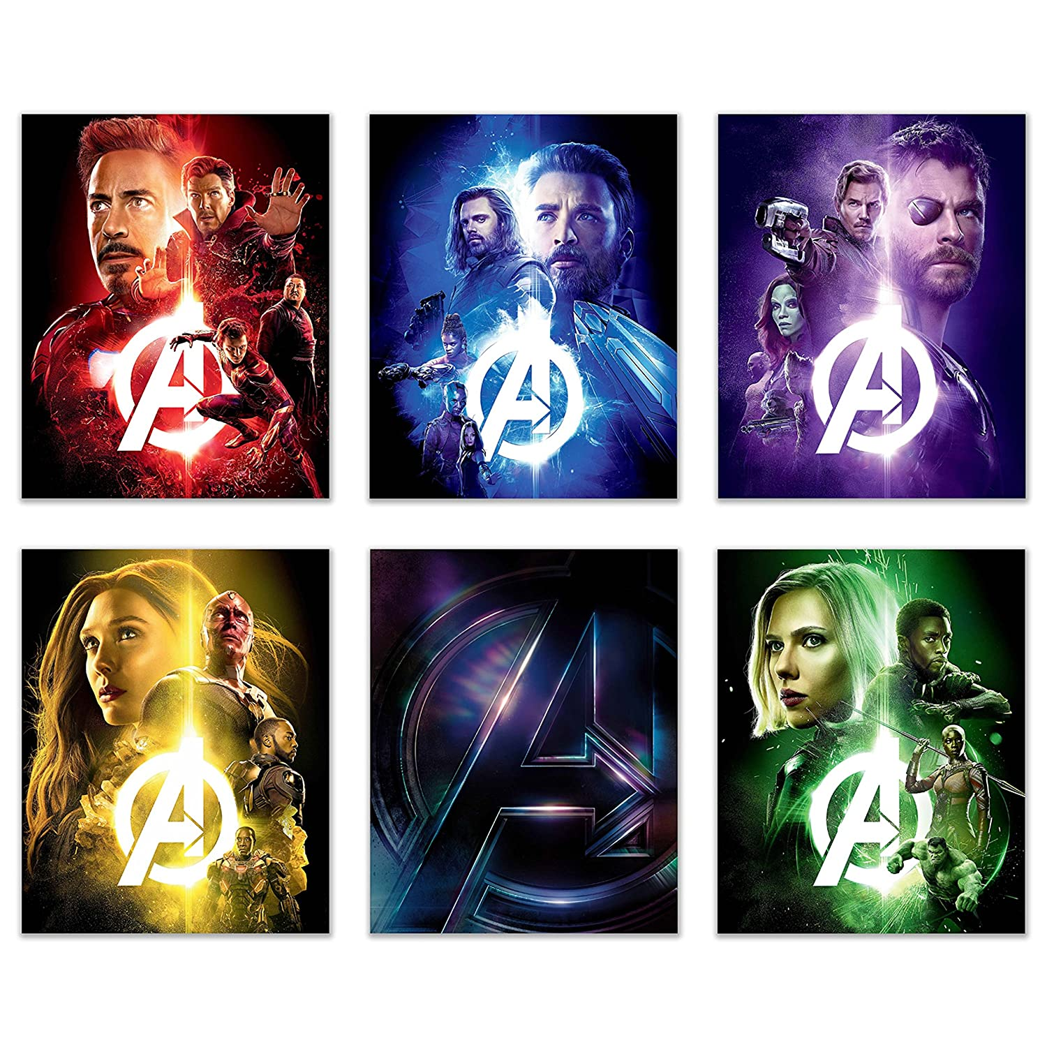 Marvel Avengers Wall Decal, Avengers, Infinity War, Marvel Universe, MCU, Iron Man, Thor, Thanos, cosplay gear, action figures, Marvel items, Hulk, Spider Man, Captain America, Black Widow, Doctor Strange,