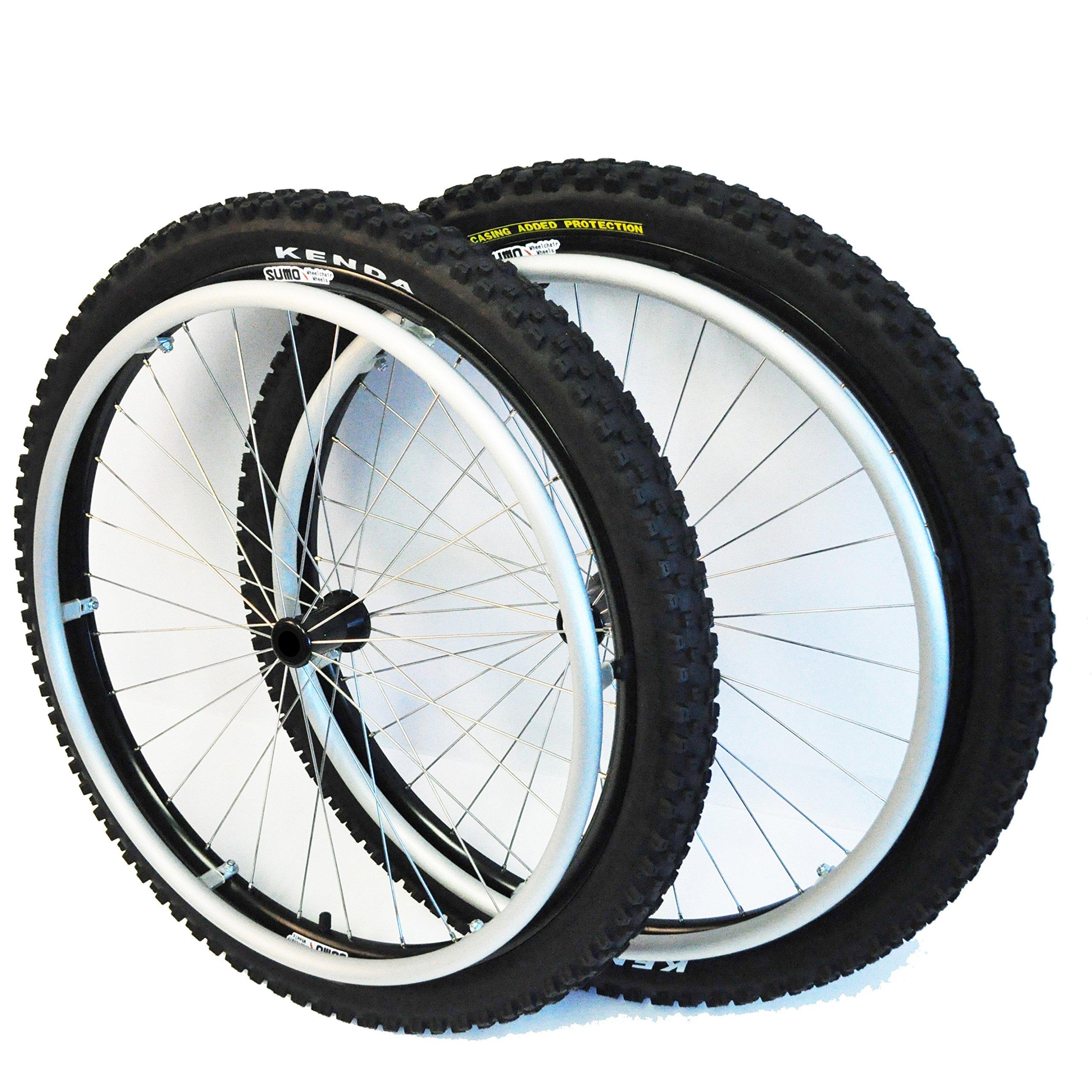 SUMO Wheelchair Wheels - All Terrain (22'')