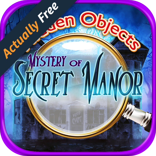 Hidden Objects - Secret Haunted Manor - Difference, Photo Hunter, and Object Finder Haunted Games (Halloween Point And Click Adventure Games)