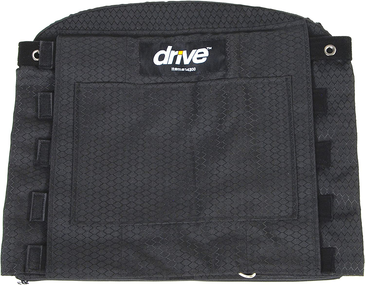 Drive Medical Adjustable Tension Back Cushions, Black 91uYVfL6ETL