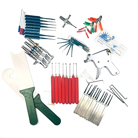 DBH Super Locksmith Tools Family,10 Kinds of Lock Pick Tools