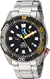Orient Men's 'M-Force Bravo' Japanese Automatic Stainless Steel Diving Watch, Color:Silver-Toned (Model: SEL0A001B0)