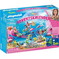 Playmobil 70777 Magic Magical Mermaids Advent Calendar with Colour-Chaning Bubble Bath