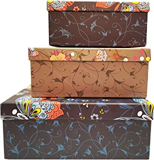 ALEF Elegant Decorative Themed Nesting Gift Boxes! Beautiful Butterfly Nesting  Boxes Beautifully Themed And Decorated