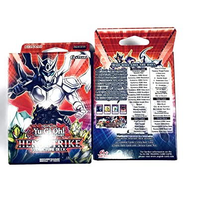 Yu-Gi-Oh! TCG: Hero Strike Structure Deck: Toys & Games