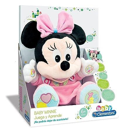 GAMES & TOYS Juega y aprende con Baby Minnie, Peluche educativo