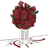 Lovepop Rose Bouquet Pop Up Card - 3D Card, Greeting Card, Valentines Day Card, Anniversary Card, Pop Up Valentine's Day…