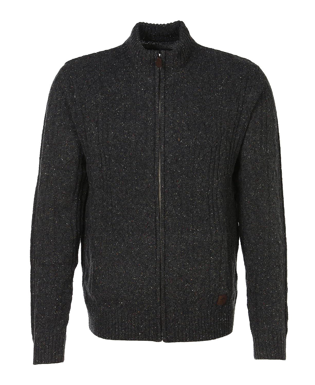FYNCH-HATTON Men's Cardigan grey dark grey