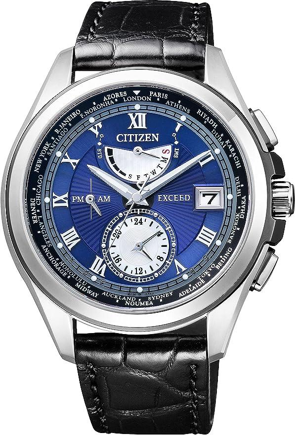 [シチズン] 腕時計 エクシード AT9056-01L ブラック