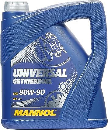 Mannol Mn8107 4 Universal Getriebeoel 80w 90 Api Gl 4 4 Liter Auto