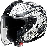 ショウエイ(SHOEI) バイクヘルメット ジェット J-Cruise CLEAVE(クリーブ) TC-6(WHITE/GREY) L (頭囲 59cm)