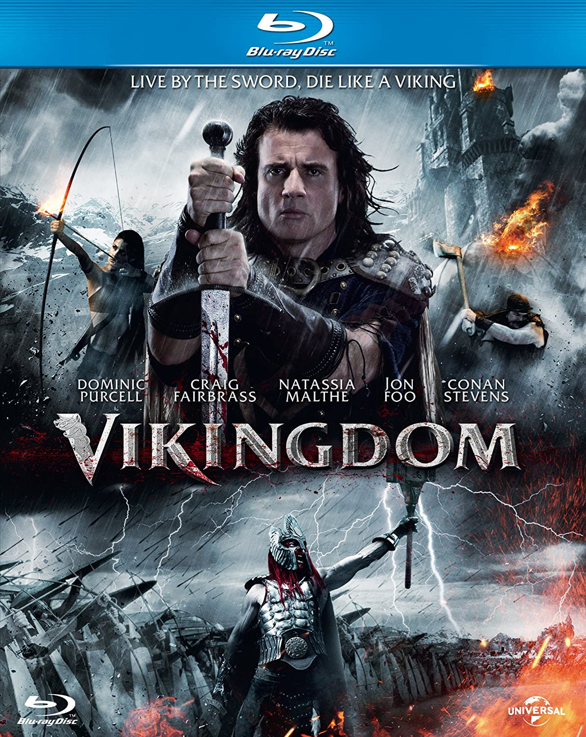 Amazon.com: Vikingdom [Blu-ray]: Dominic Purcell, Natassia ...