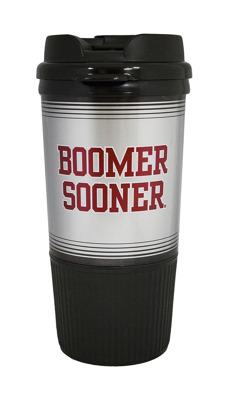 16 oz GameDay Novelty NCAA Oklahoma Sooners Insulated Travel Tumbler