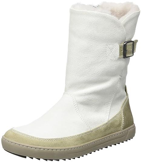 Damen Woodbury Stiefel Shoes Weißoffwhite Birkenstock POkuiTXZ
