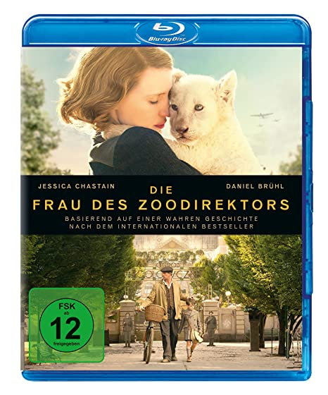 Die Frau des Zoodirektors [Blu-ray]