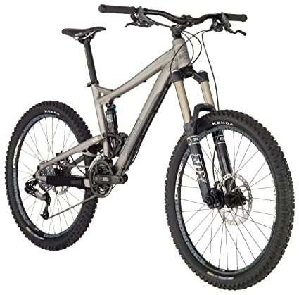 d26dbd520c0 Diamondback 2012 Mission All Mountain Full Suspension Mountain Bike (Matte  Grey