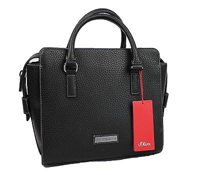 abbc68330d89b s.Oliver Womens 39.608.94.6334 Shopper Black Size  27x26x12 cm (B x ...