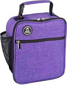 Insulated Lunch Bag with Water Bottle Holder - Girls and Boys School Lunch Boxes for Teen Boys and Girls -Kids Insulated Lunch Bag | Teen Lunch Box for Teenagers