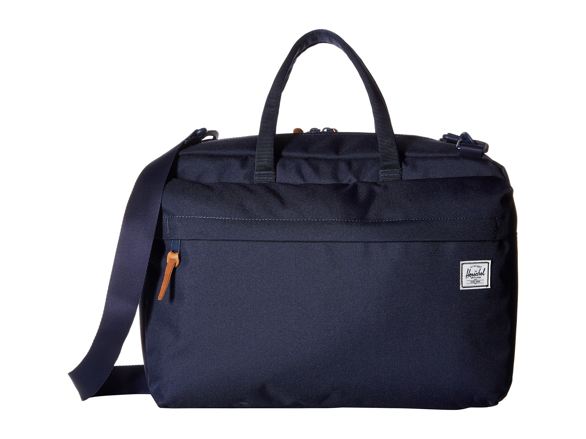 Herschel Supply Co. Sandford Laptop Messenger Bag, Peacoat, One Size