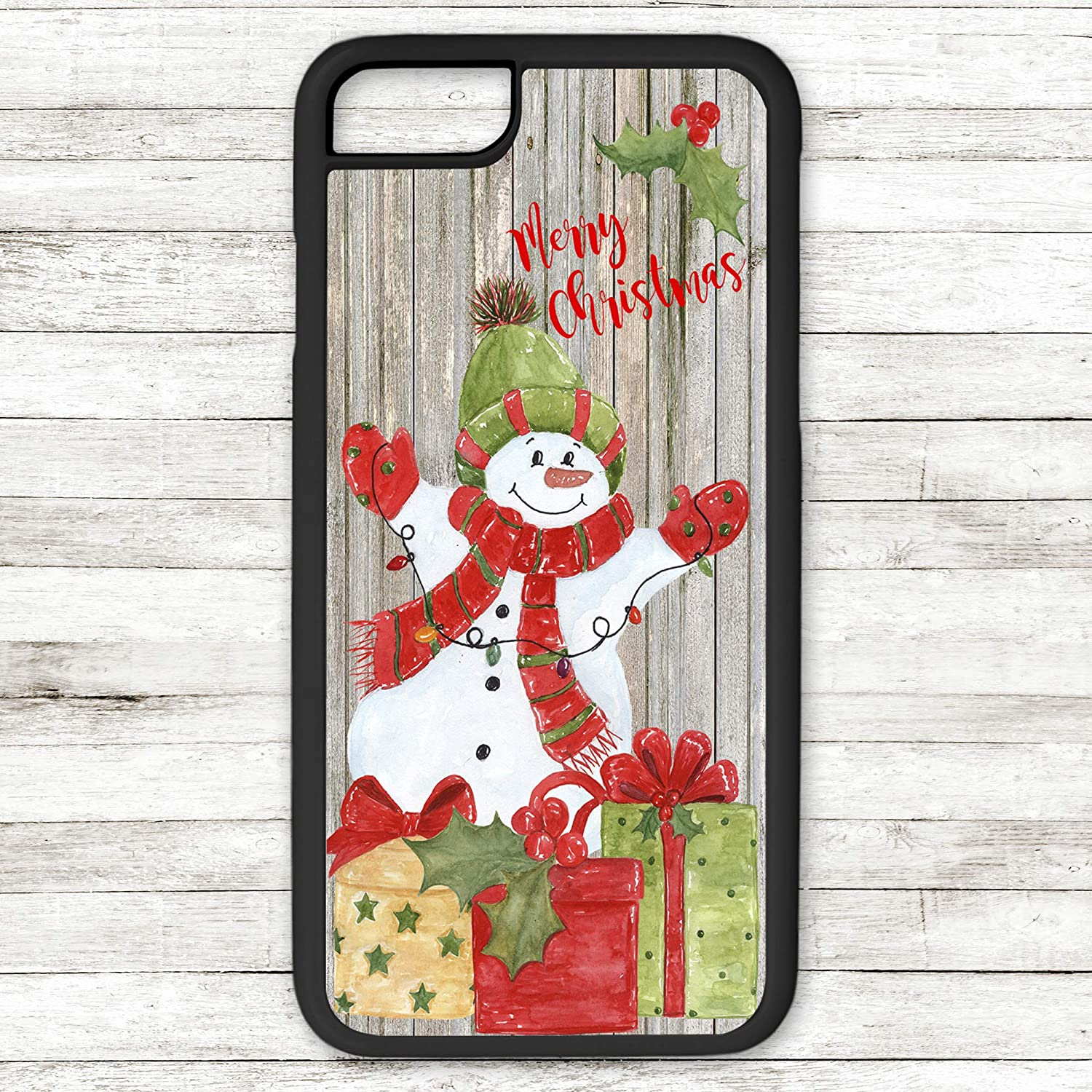 Christmas Phone Case.Amazon Com Merry Christmas Phone Case Snowman Gifts With