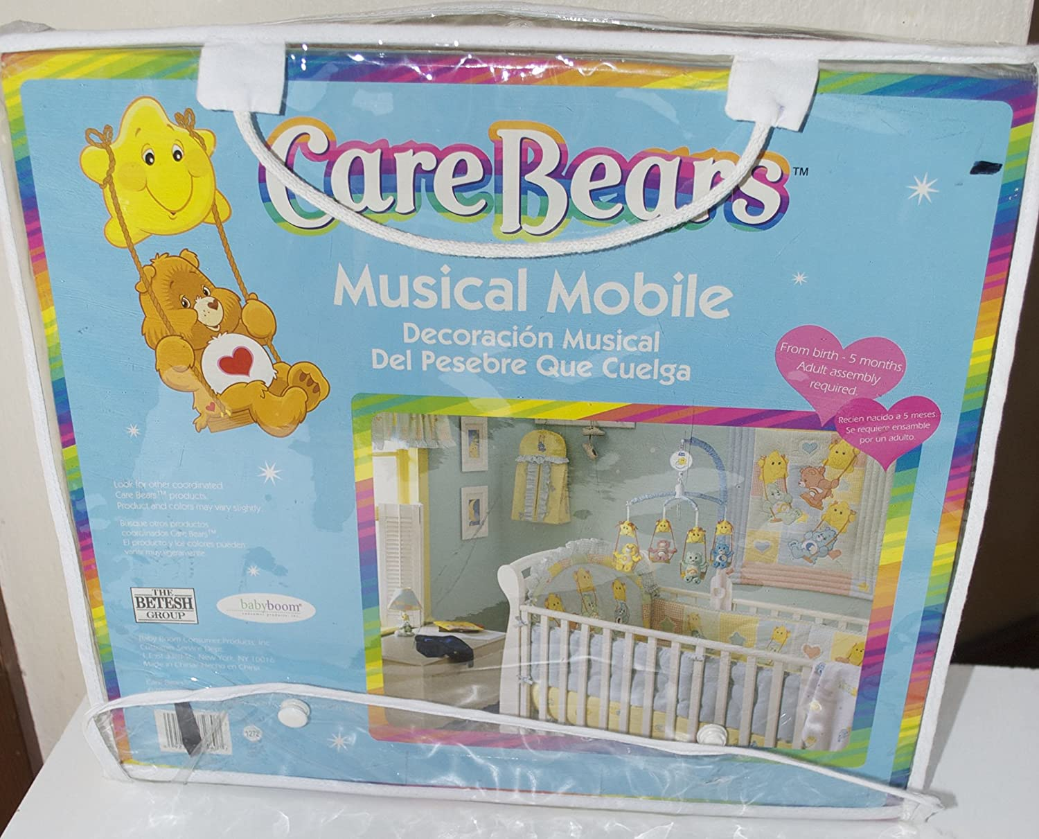 Amazon.com : Care Bears Sun Swing Musical Crib Mobile : Baby