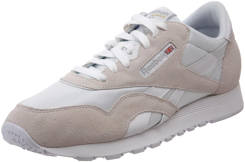 Reebok Classic Sneaker B011U1TXQO 5.5 D(M) US|White/Light Grey