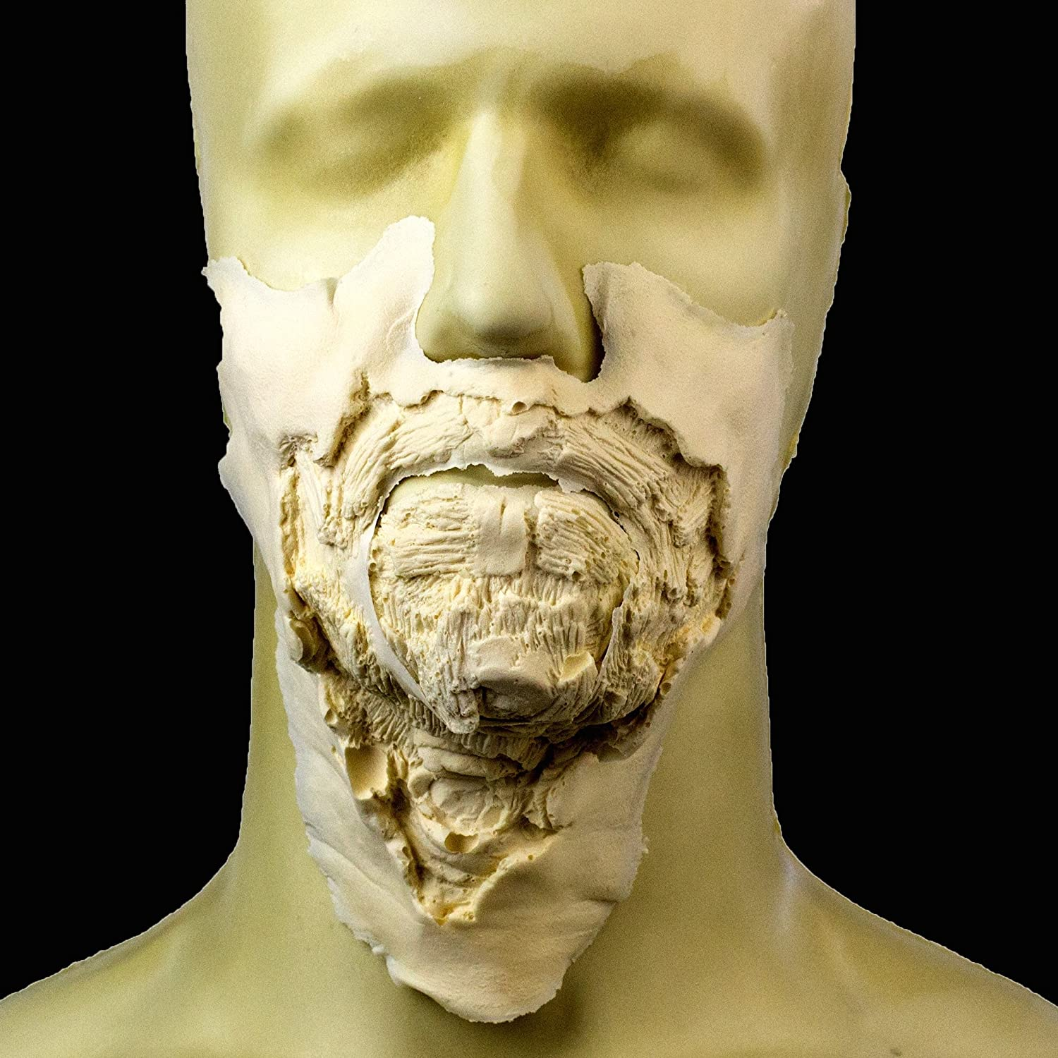 Rubber Wear Foam Latex Prosthetic Makeup FX Large Zombie Mouth #1 FRW-115